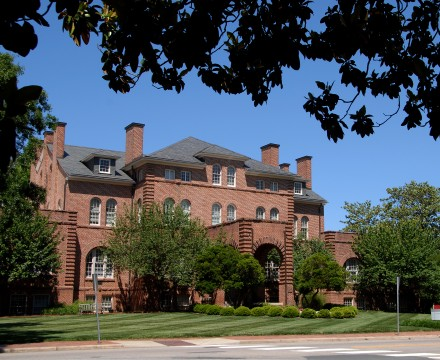 Holladay Hall. PHOTO BY ROGER WINSTEAD