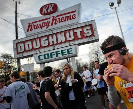 Krispy Kreme Challenge Runner
