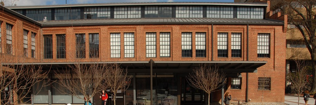 Exterior image of Park Shops building.