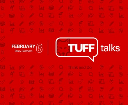 TUFF Talks graphic