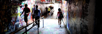 Free Expression tunnel walk